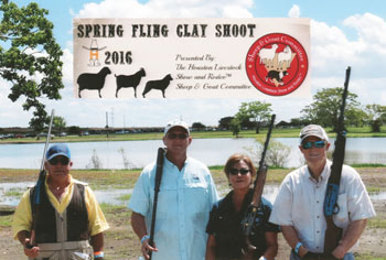 Texas Floor Covering, Inc. wins second place in the 2016 Spring Fling charity clay shoot
